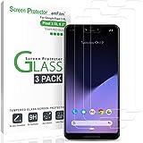 Pixel 3 XL Screen Protector Glass, amFilm Case Friendly Tempered Glass Screen Protector for Google Pixel 3 XL (3 Pack)