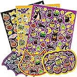 Halloween ハロウィーン シール(230枚入り)クラフトやコラージュ、手作りカードに お得パック