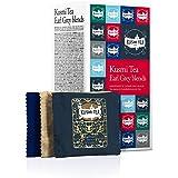(KUSMI TEA) クスミティー アールグレイ ブレンド ティーバッグ 2.2g×24袋入り(6種類、各4袋入り) [正規輸入品]