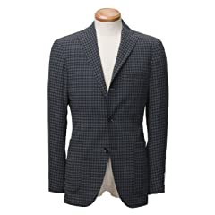 Ring Jacket New Balloon Wool Houndstooth Jacket BYJ-05