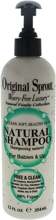 Original Sprout Natural Shampoo, 355ml