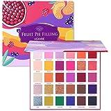 UCANBE 30 Colors Fruit Pie Filling Eye Shadow Palette Makeup Kit Vibrant Bright Glitter Shimmer Matte Shades Pigment Eyeshado
