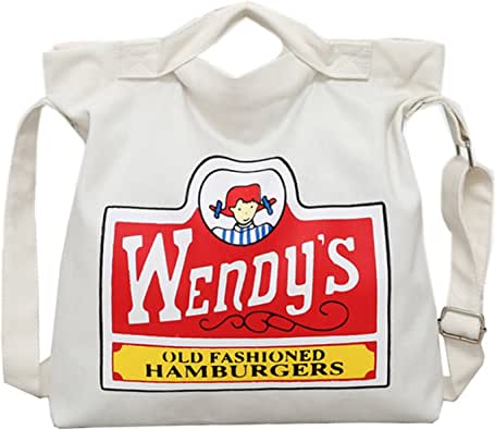[キャルベリー] ハンドバッグ 帆布 アジャスター付き 3Way ホワイト