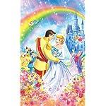 ディズニー iPhone4s 壁紙 視差効果  シンデレラのロイヤルウエディング