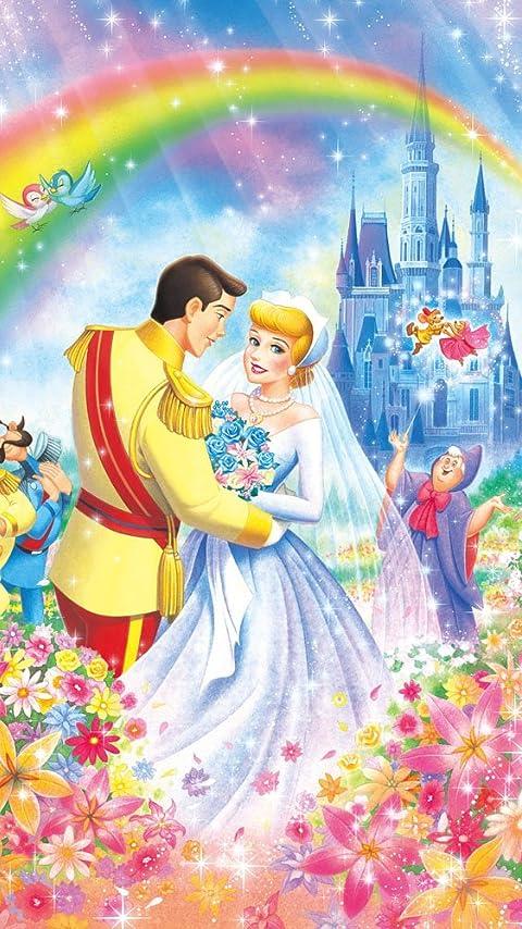 ディズニー シンデレラのロイヤルウエディング XFVGA(480×854)壁紙 画像34607 スマポ
