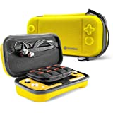 tomtoc Carrying Case for Nintendo Switch Lite, Portable Travel Storage Protective Case with 24 Game Cartridges and Original P