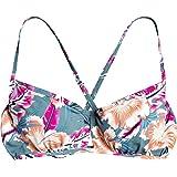 Roxy Junior's Printed Beach Classics Underwire D Cup Bikini Top