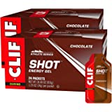 CLIF SHOT - Energy Gels - Chocolate - (1.2 Ounce Packet, 48 Count)