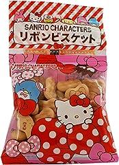 Hokuriku Sanrio Characters Ribbon Biscuit, 20g (Pack of 4)