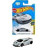 ホットウィール(Hot Wheels) ベーシックカー LBワークス ランボルギーニ ウラカン クーペ HCM55 ホワイト