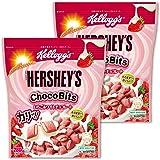 【Amazon.co.jp限定】 【セット買い】 ケロッグ ハーシー チョコビッツ いちごホワイトチョコレート 280gx2個