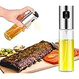 Olive Oil Sprayer Food-Grade Glass Oil Spray Bottle Vinegar Bottle Oil Dispenser