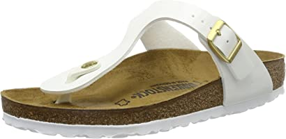 Birkenstock Gizeh Regular Fit - White 1005299 (Man-Made) Womens Sandals 38 EU