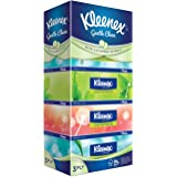 Kleenex Ultra Soft Facial Tissue, 3 PLY, Natural, 100ct (Pack of 5)
