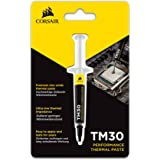 Corsair CT-9010001-WW TM30 Performance Thermal Paste Ultra-Low Thermal Impedance CPU/GPU 3 Grams w/applicator, silver, Perfor