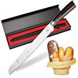 Imarku 25cm Pro Serrated Bread Cake Slicer Knife - Premium German Stainless Steel Bread Slicer