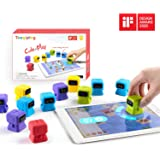 Tangiplay 知育玩具 プログラミングおもちゃ iPad専用 4歳-12歳子供向け みらプロ2020 空間認識力/思考力/計算力/想像力を向上 STEM教育 学研 小ロボット型 120種以上のパズル キッズ 入園 入学 誕生日 プレゼント アプリ連動
