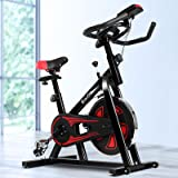 Everfit Spin Exercise Bike Stationary Flywheel Home Gym Fitness Indoor Cycling Adjustable Resistance Workout Pulse Sensor LCD