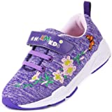EIGHT KM Boys and Girls Toddler Kids EKM7006 Lightweight Breathable Embroidered 100% Cotton Jersey Designer Trainers School S