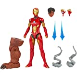 Hasbro Marvel Legends Series 6-inch Ironheart Action Figure Toy, Premium Design and Articulation, Includes 7 Accessories and