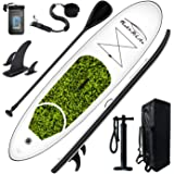 Feath-R-Lite Stand Up Paddle Board 10'x30''x6'' Ultra-Light (16.7lbs) ISUP with Inflatable Paddleboard Accessories,Three Fins
