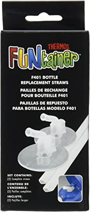 Thermos Replacement Straws for 12-Ounce Funtainer Bottle