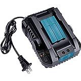 WaxPar DC18RC 互換充電器 対応 マキタ 14.4V~18V リチウムイオンバッテリ マキタ バッテリー BL1430 BL1440 BL1450 BL1460 BL1815 BL1830 BL1840 BL1850 BL1860 BL1