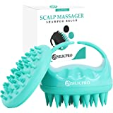 SILICPRO Shampoo Brush Scalp Massager With Body Brush Attachment - Soft Silicone Scalp Brush For Hair - Used To Exfoliate and