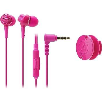 audio-technica dip インナーイヤーヘッドホン(耳栓型) スマートフォン専用 ピンク ATH-CKL203iS PK
