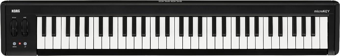 KORG USB MIDI キーボード microKEY2-61 マイクロキー2 61鍵
