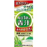 伊藤園 エコパック ごくごく飲める 毎日1杯の青汁 まろやか豆乳ミックス (紙パック) 200ml ×24本