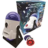 2-in-1 Constellations and Images Planetarium Projector, 24 images to discover space, 2 constellation domes, STEM, white/blue,