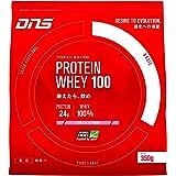 DNS プロテイン ホエイ100 いちごミルク風味 350g(約10回分) たんぱく質 筋トレ