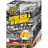 ゴールドジム(GOLD'S GYM) クエン酸パウダー オレンジ風味 14包