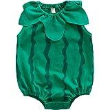 エルフ ベビー(Fairy Baby)楽しい夏のフード付き ベビー着ぐるみロンパース 記念写真 パーティー用