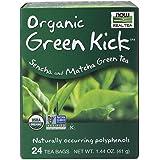 NOW Foods Green Kick Tea,24-Count