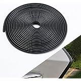 WINUNITE Car Door Edge Guards U Shape Edge Trim Rubber Seal Protector Car Protection Door Edge Fits for Most Car Black 32Ft B