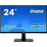 マウスコンピューター iiyama モニター ディスプレイ XU2493HSU-B1(23.8型/IPS方式ノングレア非光沢/広視野角/ティルト/1920x1080/DP,HDMI,D-Sub)