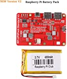 Raspberry Piリチウム電池の拡張ボード ラズベリーパイ 拡張ボード Raspberry Pi3B Pi 2B B+ (3.7V 3800mAhバッテリ)