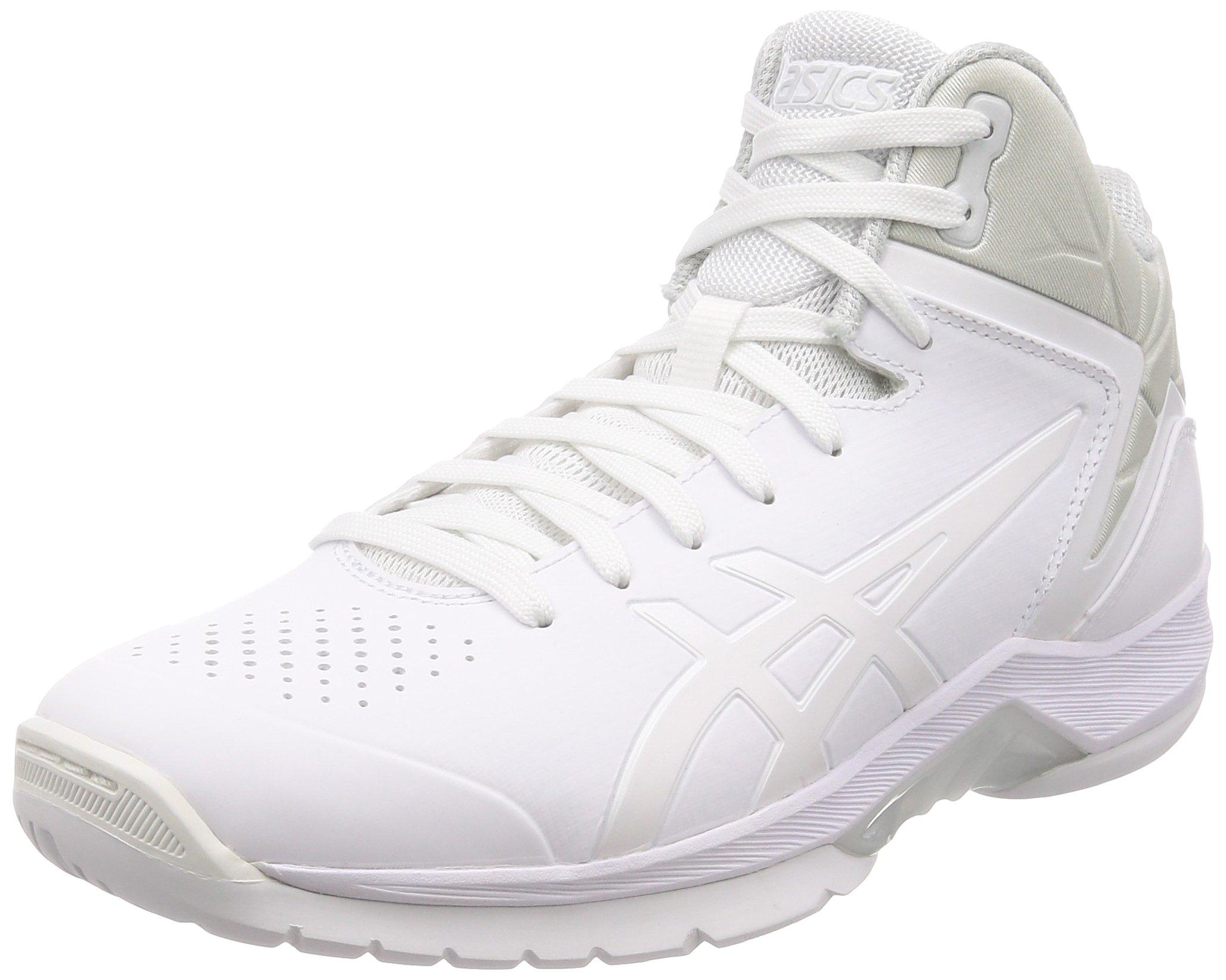 アシックス バスケットシューズ GELTRIFORCE 3 現行モデル メンズ ホワイト/ホワイト 26.5 cm Wide
