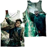 Harry Potter Harry Vs Voldemort (Front  Back Print) Unisex Adult Sublimated Tank Top for Men and Women