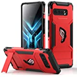 MME Case for ASUS ROG Phone 3 Case Air Trigger Compatible Military Grade Drop Protection with Built in Kickstand, Camera Prot