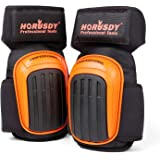 HORUSDY Knee Pads for Work, Senior Gel Cushion and High Density Foam Padding, Professional Gel Knee Pads Heavy Duty for Const