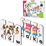 """The Learning Journey 650028 Match It! Spelling 5.2"""" H X 5.2"""" W X 0.1"""" D"""