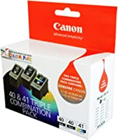 Canon PG40CL41VP Value Pack (2 x PG40 Black & 1 x CL41 Colour)