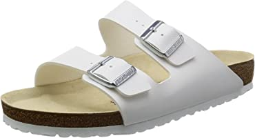 Birkenstock Unisex Arizona, White Sandals
