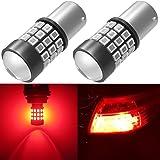 Alla Lighting BAY15D 7528 1157 LED Strobe Brake Lights Bulbs Super Bright 2357 2057 1157 Flashing Strobe LED Bulbs High Power