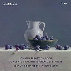 J.S.バッハ : チェンバロと弦楽のための協奏曲集 Vol.1 / 鈴木優人 (チェンバロ&指揮) &バッハ・コレギウム・ジャパン (J.S.Bach : Concertos for Harpsichord and Strings, Vol.1 / Masato Suzuki (harpsichord & direction) & Bach Collegium Japan)[SACD Hybrid] [日本語帯・解説付] [Import] [Live Recording]