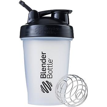 ブレンダーボトル 【日本正規品】 Blender Bottle Classic w/Loop 20オンス (600ml) Clear ブラック BBCLE20 BK