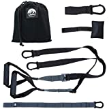 POSTURELY Bodyweight Suspension Resistance Training Straps Kit for Full Body Workouts at Home